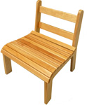 The Slatted Chair