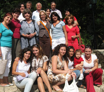 2009 staff of the Montessori School of Albania