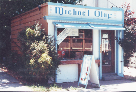 Very First Michael Olaf Store