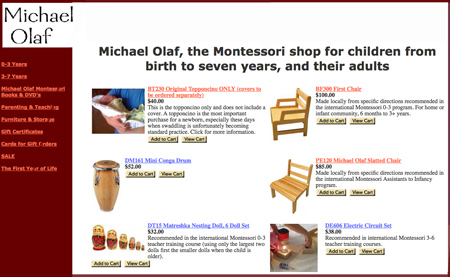 Michael Olaf Montessori Shop