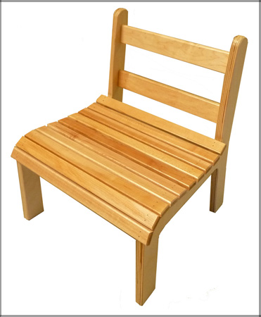 Montessori Slatted Chair