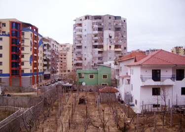 Tirana, old and new together